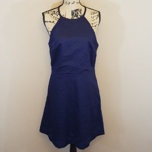 Gap sz 10 fit/flare dress Navy Blue